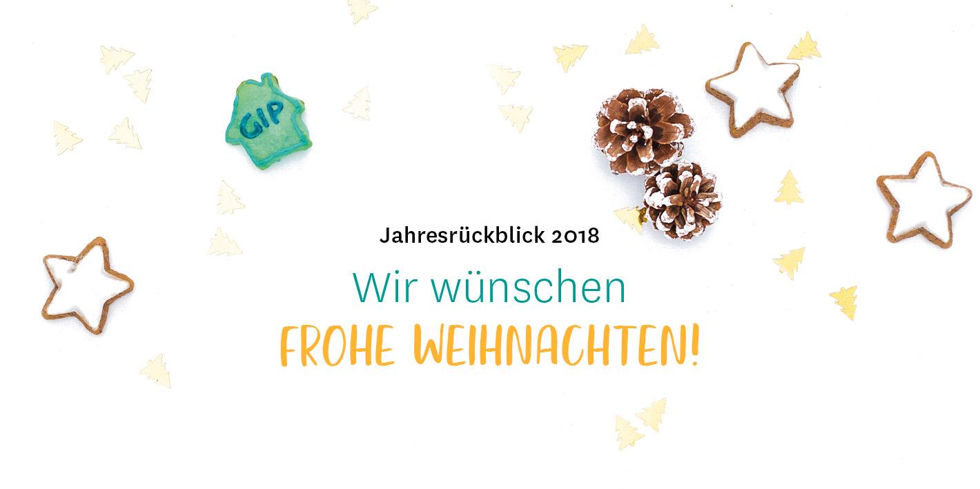 Weihnachtswünsche Mit Dankeschön.Gip Weihnachtsgrüße 2018 Gip Intensivpflege