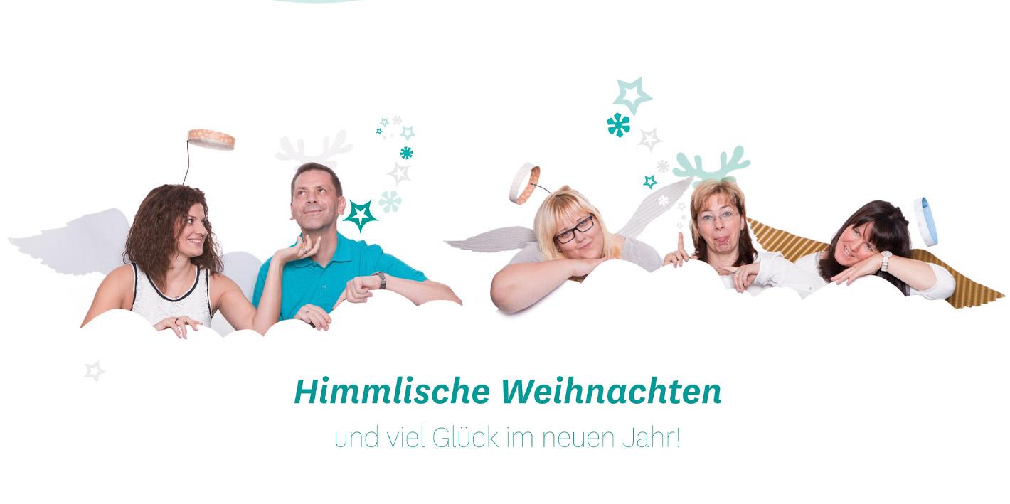 Himmlische Weihnachtsgrüße.Weihnachtsgrüße 2015 Gip Intensivpflege